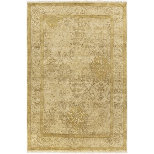 Otoole Gold Area Rug by One Allium Way