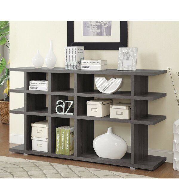 Mcauley Contemporary Wooden Cube Unit Bookcase by Ivy Bronx