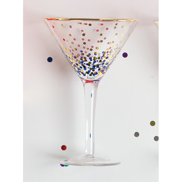 Valazquez Martini Glass (Set of 4) by Mercury Row