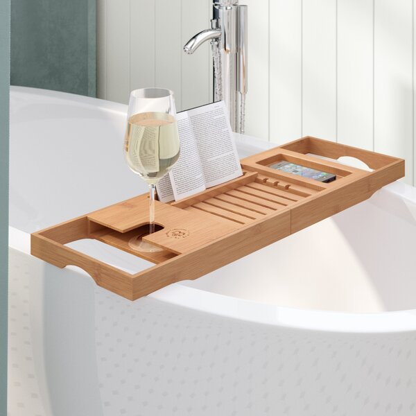 Elledge Bamboo Bath Caddy by The Twillery Co.