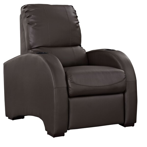 Coach Leather Manual Recliner by Modway