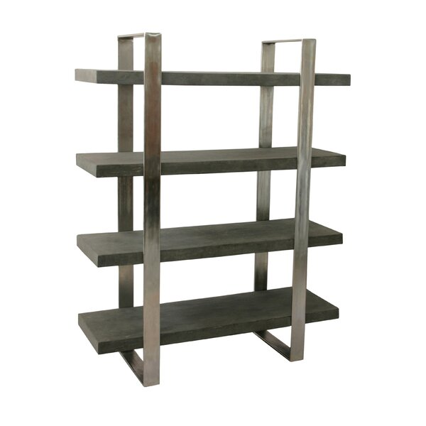 Dearmond 4 Shelf Etagere Bookcase by Foundry Select