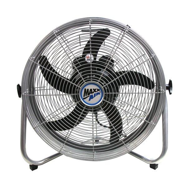 18 Oscillating Floor Fan by MaxxAir