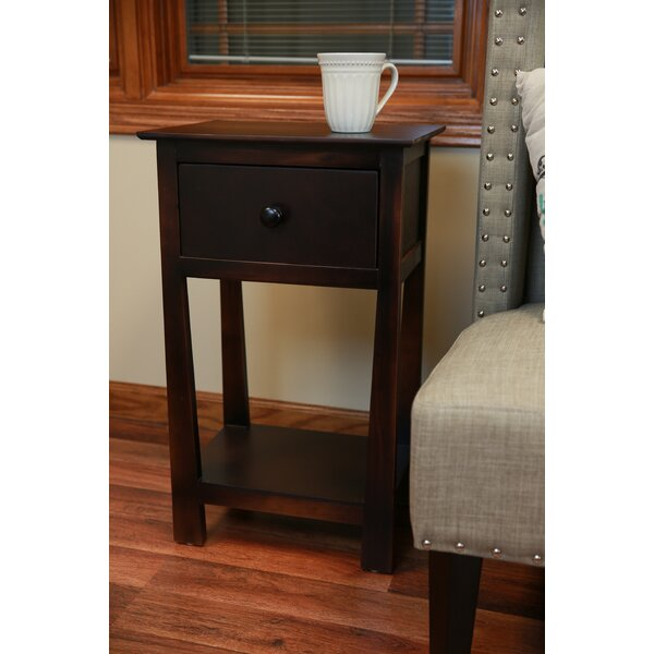 Shoalhaven End Table with Storage by Charlton Home