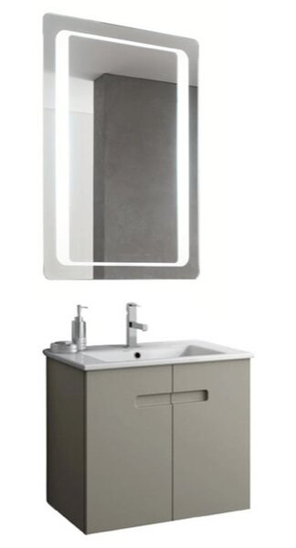 Buy  Rackers 24.5 Wall-Mounted Single Bathroom Vanity.  Buy