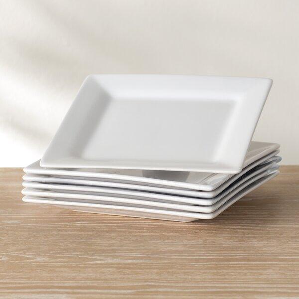 Wayfair Basics 11 Square Dinner Plate (Set of 6) by Wayfair Basics™