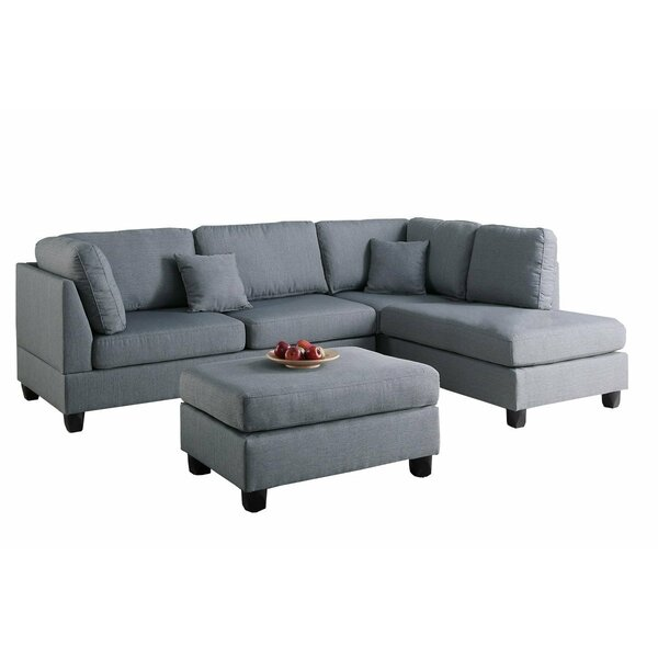 Chelsea Reversible Sectional by Infini Furnishings