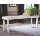 Lathrop Wood Bench by Millwood Pines