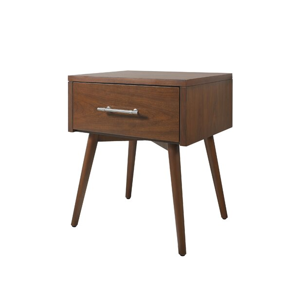 Berjen Leg 1 Drawer Nightstand by Samuel Lawrence Hospitality