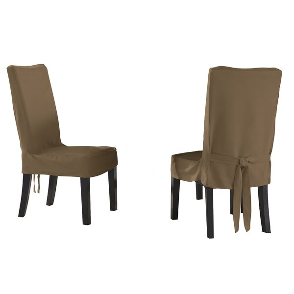 Box Cushion Dining Chair Slipcover (Set Of 2) By Serta