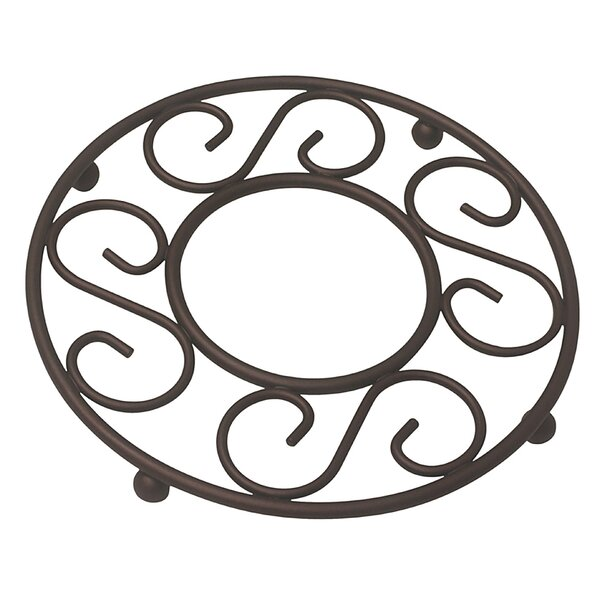 Solid Scroll Trivet by Fleur De Lis Living