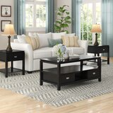 Groce 3 Piece Coffee Table Set