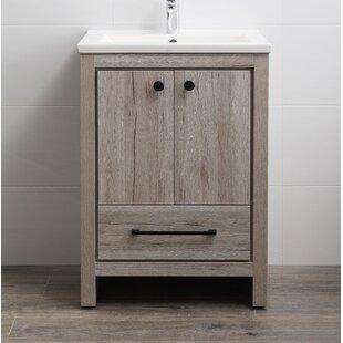 Great Price Asenath 24 Single Bathroom Vanity Set ByUnion Rustic