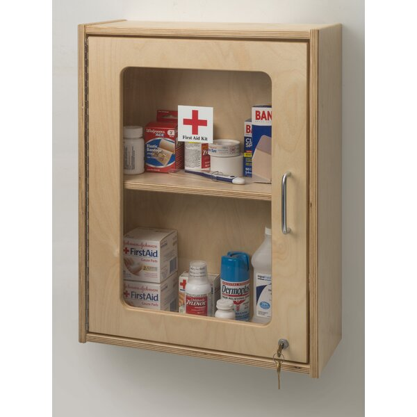 17 W x 24 H Wall Mounted Cabinet by Whitney Brothers