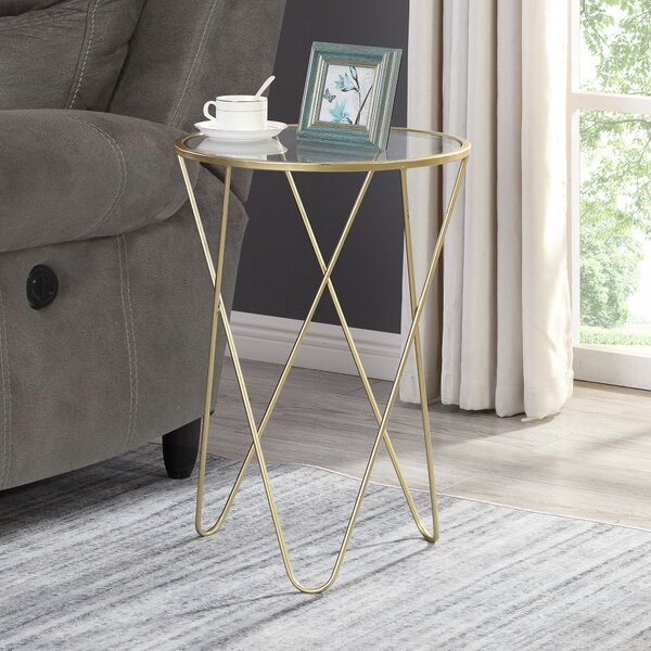 Heintz Hairpin End Table by Mercer41
