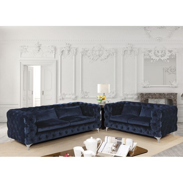 Vandervoort Configurable Living Room Set by Everly Quinn