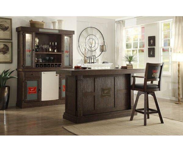 Miller High Life 30 Swivel Bar Stool (Set of 2) by ECI Furniture
