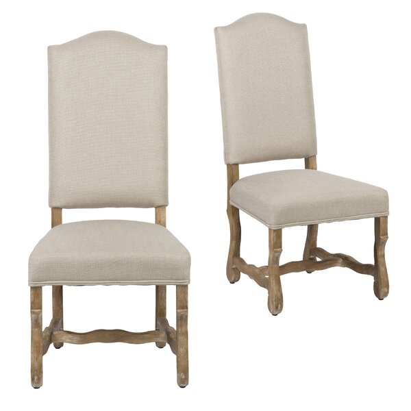 Salvatore Upholstered Dining Chair (Set of 2) by Ophelia & Co.
