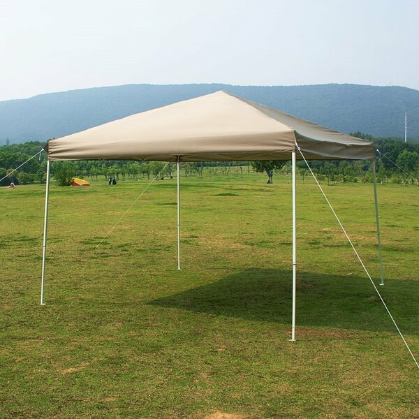 10 Ft. W x 10 Ft. D Steel Pop-Up Canopy by Naturefun
