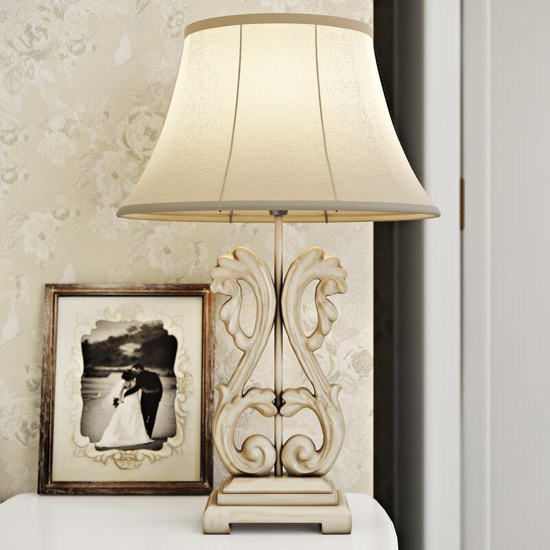 Lily Manor Liseron Ornate 58 cm Table Lamp & Reviews   Wayfair.co.uk