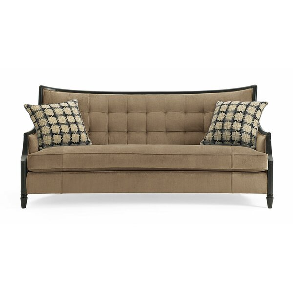 Filmore Exposed Wood Sofa by Astoria Grand