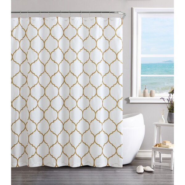 Laelia Vinyl Shower Curtain by Willa Arlo Interior