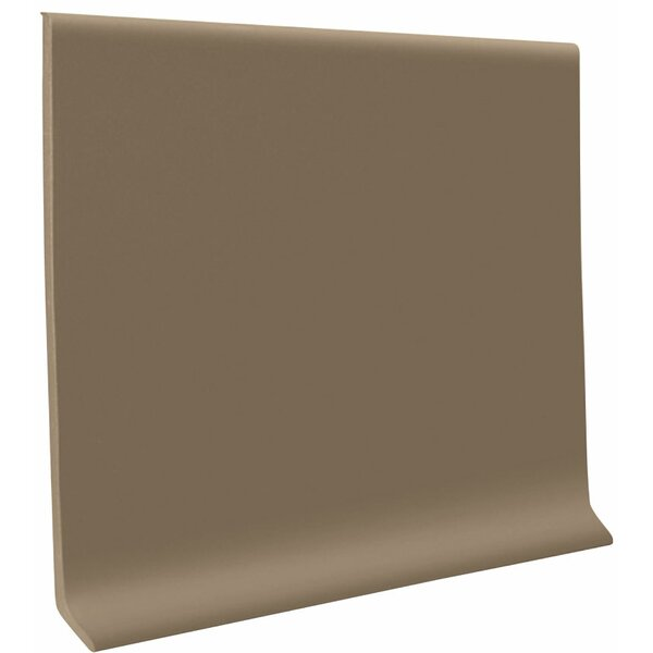 0.08 x 48 x 4 Cove Molding in Fawn (Set of 30) by ROPPE