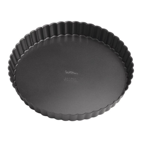 2 PieceNon-Stick Perfect Round Tart/Quiche Set by Wilton