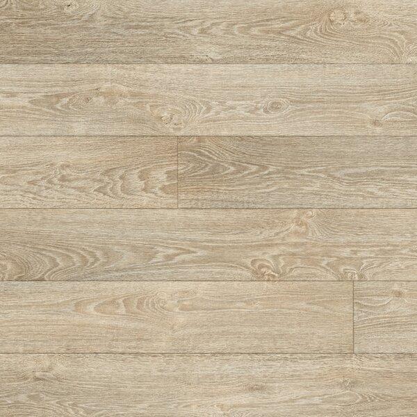 Restoration 6'' x 51'' x 12mm Oak Laminate Flooring in Antiqued by Mannington
