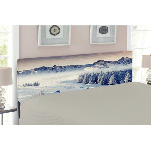 Nature Upholstered Panel Headboard by East Urban Home