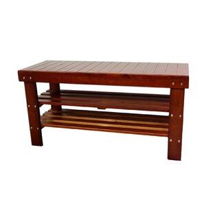 Babcock Wood Storage Bench