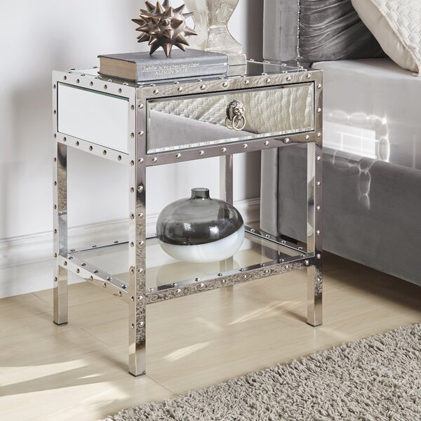 Richards End Table With Storage By House Of Hampton
