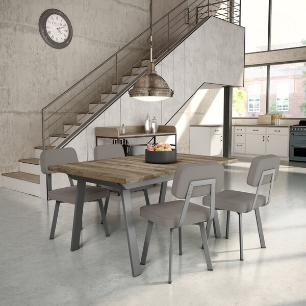 Andrew 5 Piece Extendable Dining Set by 17 Stories