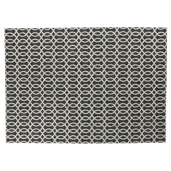 Berlin Charcoal/Ivory Area Rug by Exquisite Rugs