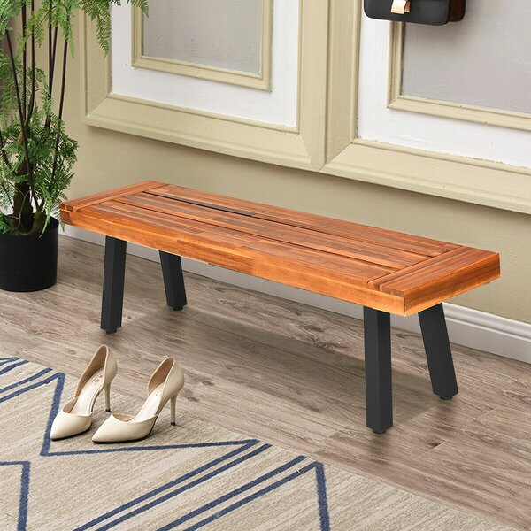 Tomaso Outdoor Picnic Bench (Set of 2) by Foundry Select
