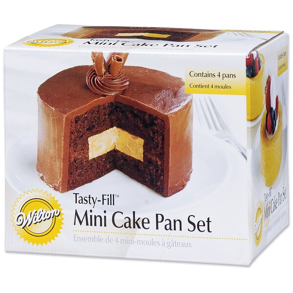 5 Piece Non-Stick Mini Tasty Fill Pan Set by Wilton