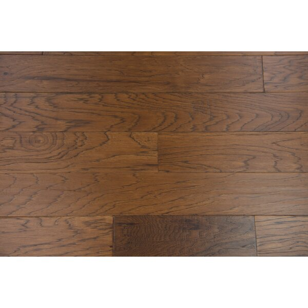 Paris 5 Engineered Hickory Hardwood Flooring in Pecan by Branton Flooring Collection