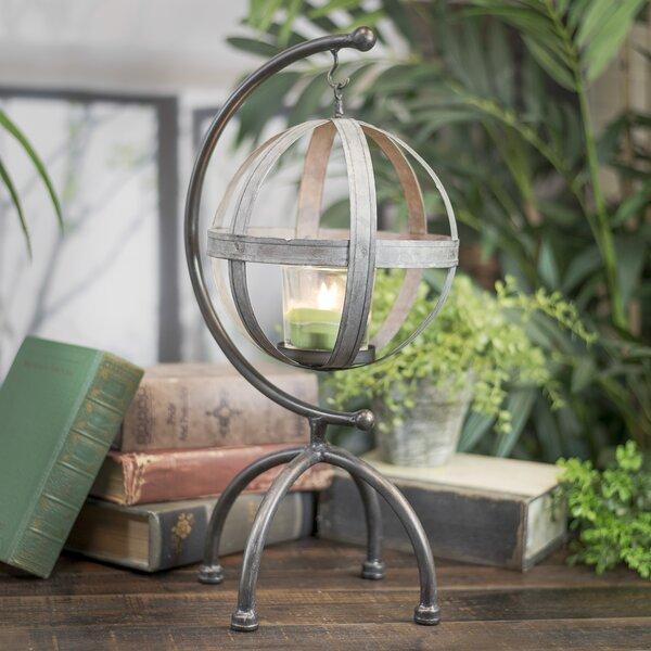 Globe Metal Lantern by One Allium Way