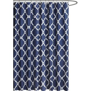 beige and blue shower curtain. Save To Idea Board Blue Shower Curtains You Ll Love