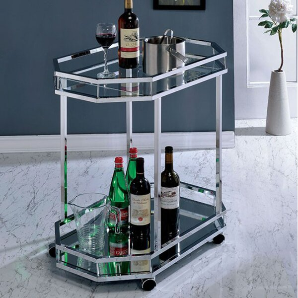 Graef Contemporary Bar Cart by Latitude Run