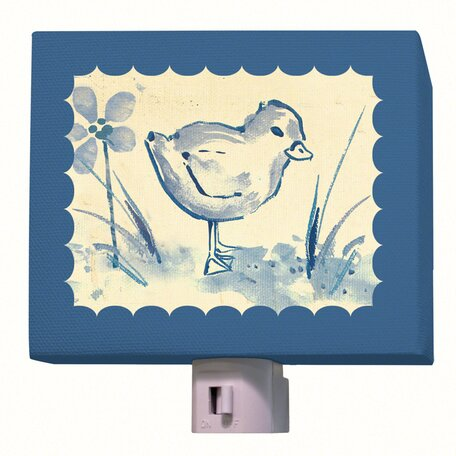 Toile Chickie Night Light by Oopsy Daisy