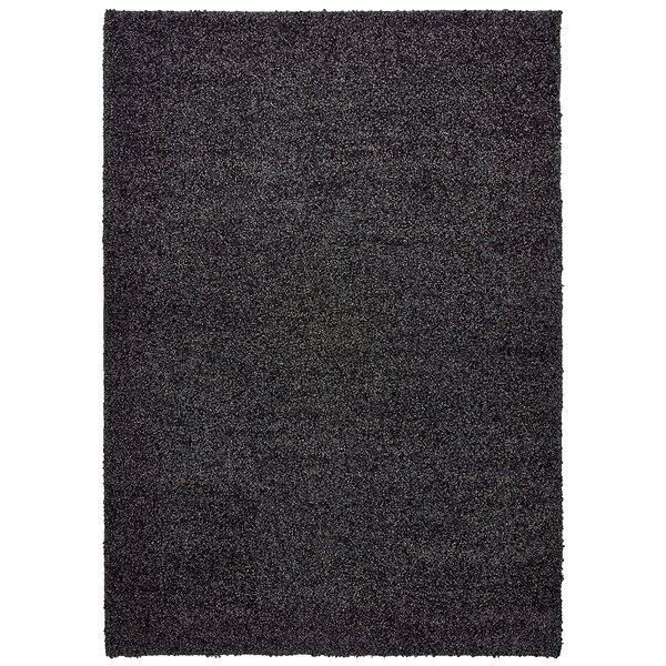 Vanessa Hand-Tufted Black Area Rug by Threadbind