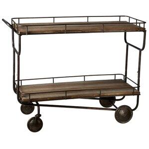Aunesty Bar Cart by Gracie Oaks