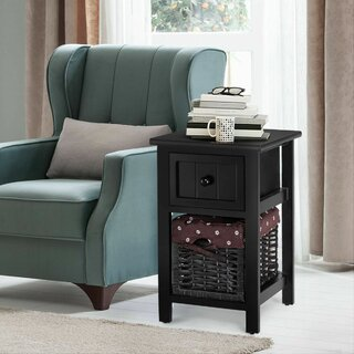 Aquin End Table with Storage by Charlton Home SKU:CB343105 Check Price