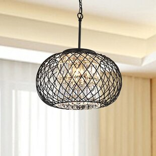 Mcmanis 3-Light Globe Chandelier by House of Hampton