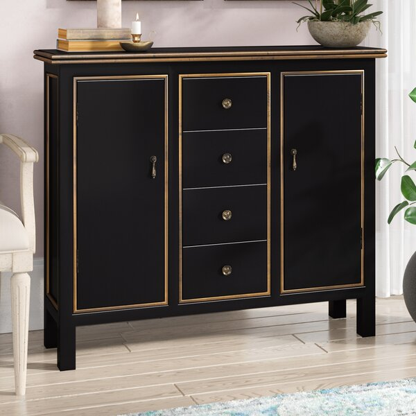 Lino 4 Drawer 2 Door Cabinet by Lark Manor
