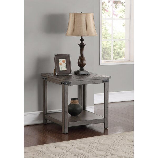 Plains End Table by Three Posts