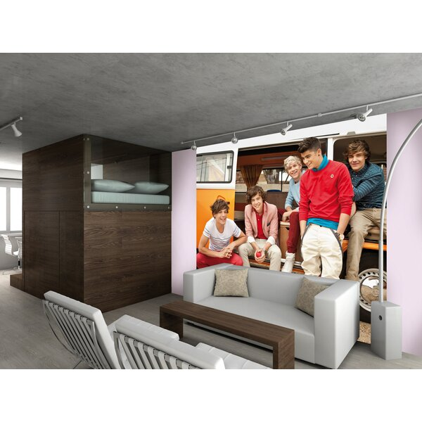 One Direction Campervan Wall Mural by WallPops!