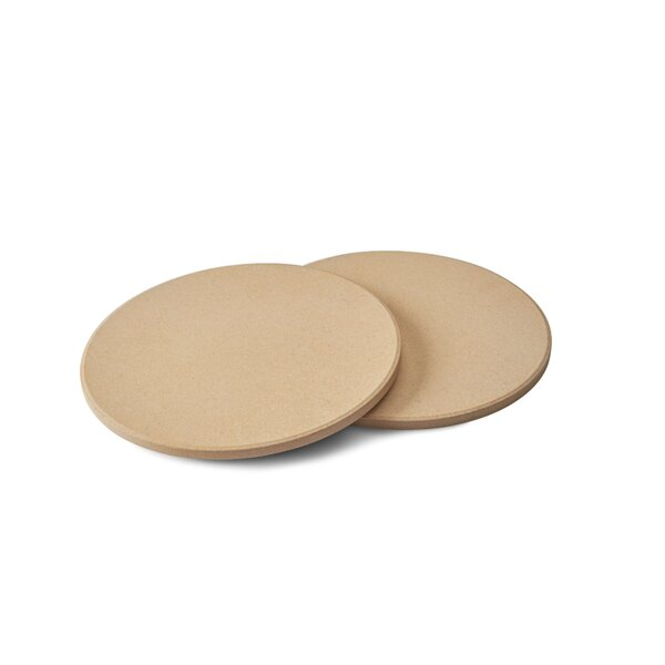 10 Personal Sized Pizza Grilling Stone (Set of 2) by Napoleon