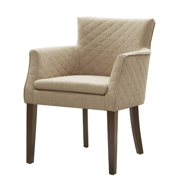 Dann Upholstered Dining Chair by Mercury Row